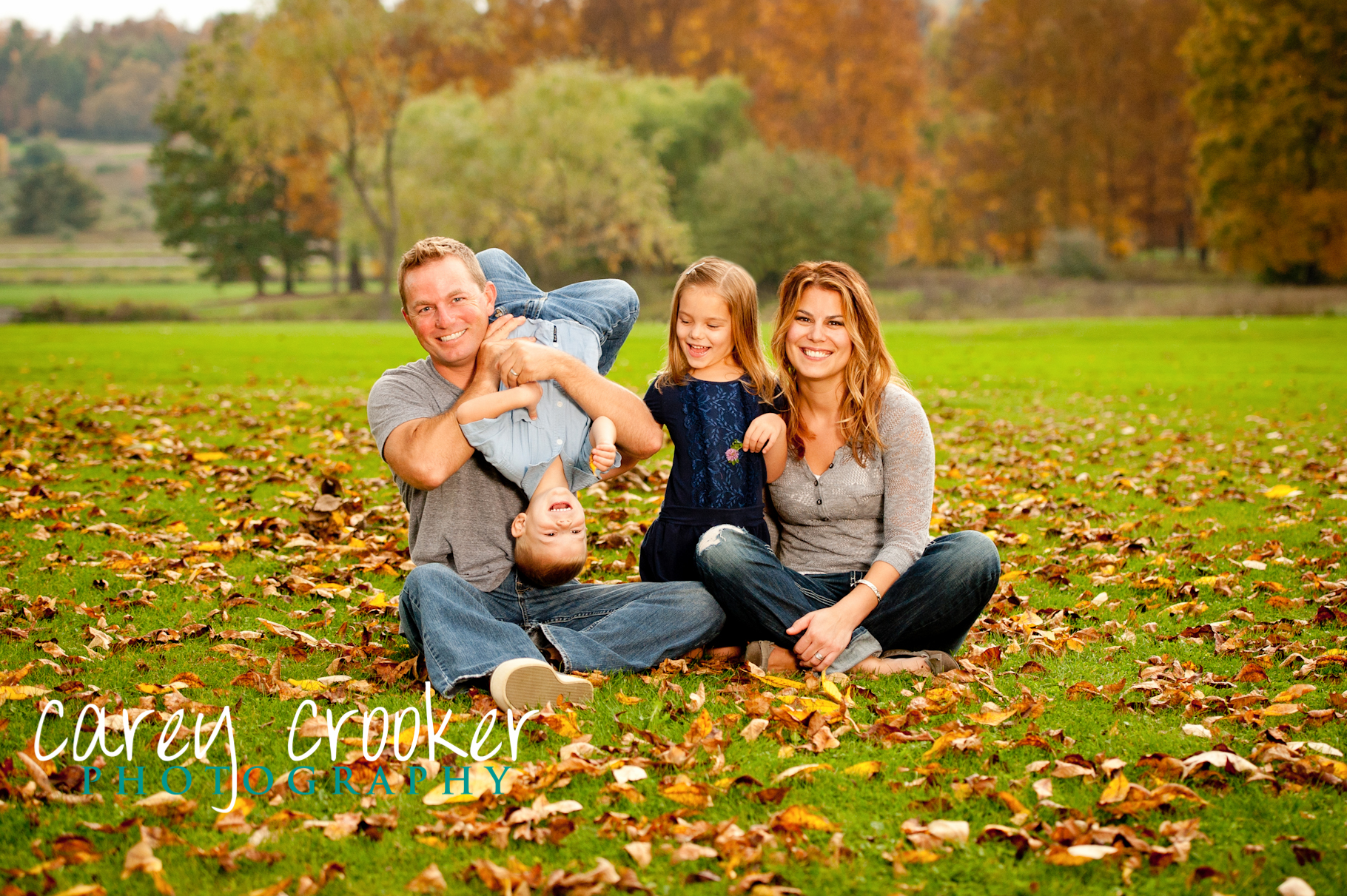 The Wilcox Family Fall Portraits